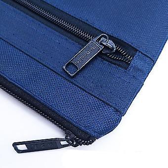 حقيبة وثيقة جديدة A4 زيبر حقيبة قماش حقيبة يد رجالية حقيبة دفتر بسيطة أضعاف Gusset ES2692