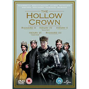 The Hollow Crown - Series 1-2 DVD