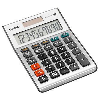 Casio MS100BM-S 10-numeroinen työpöytälaskuri verolaskelmilla