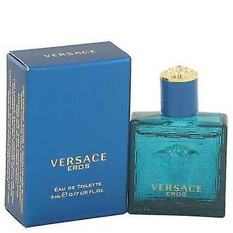 Versace Eros by Versace Mini EDT .16 oz (miehet) V728-513031
