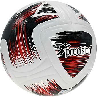Präzision Nueno FIFA Qualität Pro Match Fußball 5 Weiß/Schwarz/Rot
