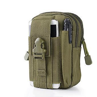 Men Tactical Belt Waist Pack Bag Small Pocket Military Waist Pack Running Pouch Travel Camping Bags Soft Back