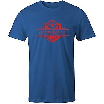 Sporting empire inverness caledonian thistle 1994 established badge kids football t-shirt