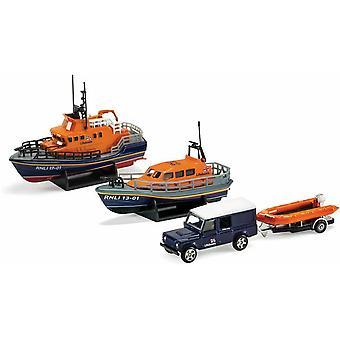 RNLI Gift Set  Shannon Lifeboat Severn Lifeboat and Flood Rescue Team Corgi RLNI0001