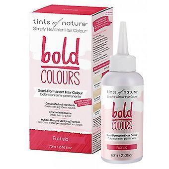 Tints of Nature Semi-Permanent Hair Color, Bold Fuschia 2.46 Oz