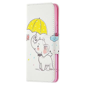 Xiaomi Redmi Note 10 4g Case Pattern Magnetic Protective Cover Cute Elephant