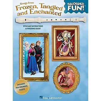 Blockflöte Spaß! Songs From Frozen, Tangled And Enchan (Various Composers) Blockflöte, nur Buch, Hal Leonard Europe