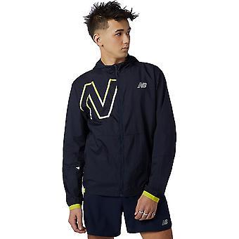 Uusi balance printed impact run kevyt pakkaus running jacket - AW21