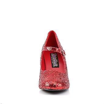 Funtasma Kleding & Accessoires > Kostuums & Accessoires > Kostuumschoenen > Dames GLINDA-50G Red Gltr