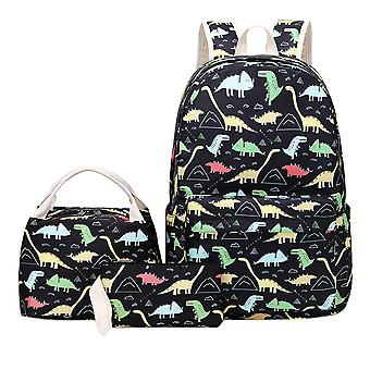 Children School Backpack Set With Lunch & Pencil Case