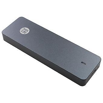 i9 GTR NVME Aluminium TYPEC3.1 mobil hdd box optibay hdd tok C3.1 RTL9210 m. 2 USB3.1 M.2