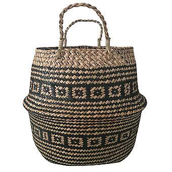 Foldable Handmade Rattan Woven Flower Basket