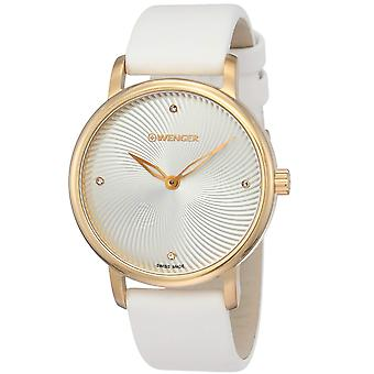 Wenger Women's Urban Donnissima White Dial Watch - 01.1721.101