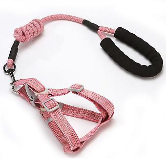 Evago Dog Harness Leash Set, Adjustable Heavy Duty No Pull Halter Harnesses For Large, Medium, Small Breed Dogs, Back Clip, Anti-twist, Perfect For Wa