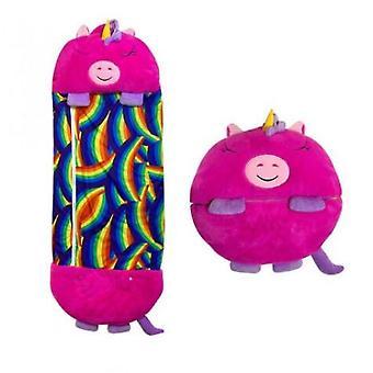 135/160/180cm Dibujos animados saco de dormir Niños Feliz Juego Almohada Navidad Regalos