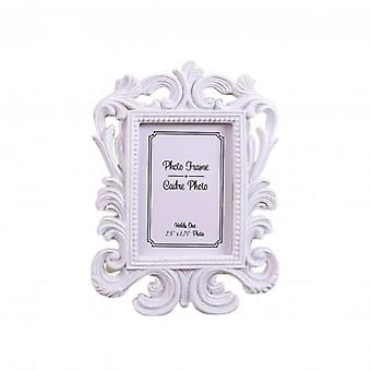Hollow Design Rectangle Photo Frame Picture Holder Wedding Home Decor Gift Valentine's Day Party Decoration Supplies
