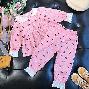 Girls Pajamas Baby Pajamas Sets Cotton Nightwear Clothes