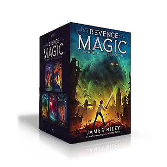 The Revenge of Magic Complete Collection  The Revenge of Magic The Last Dragon The Future King The Timeless One The Chosen One by James Riley