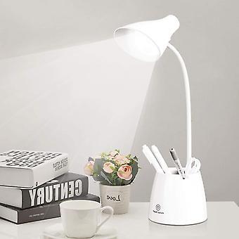 3 in 1 Multi Function Study Reading LED Desk Lamp