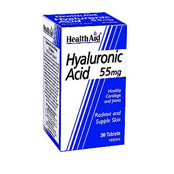 Helse Aid hyaluronsyre 55mg, 30 tabletter