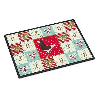Door mats carolines treasures ck5375jmat capuchin red pigeon love indoor or outdoor mat 2