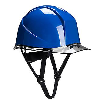 Portwest Mens Skyview Safety Helmet Royal Blue One Size Blue