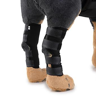 Evago Classic Style-Haustier Hund Gelenk Bandage Ellbogen, Welpe Hund Bein Handgelenk Schutz Kniepolster Chirurgische Verletzung Bandage Wrap Protector