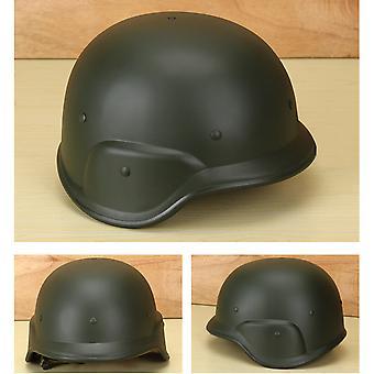 Grüner taktischer Helm Pasgt M88 Cs Spiel Outdoor Ausrüstung Kunststoffhelm Schutzhelm