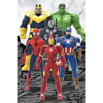 The Avengers! Electric Sounding Toys! Children's Gifts!