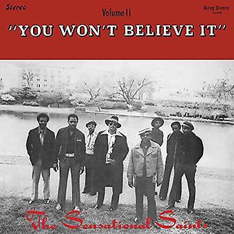 Sensational Saints - You Won't Believe It [Vinyl] USA import