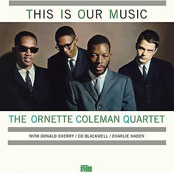 Ornette Coleman - här är vår musik [Vinyl] USA import