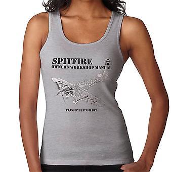 Haynes Owners Workshop Manual Spitfire vrouwen Vest