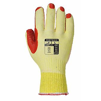 Portwest - Tough Grip  Palm Dipped Gripper Gloves (1 Pair Pack)