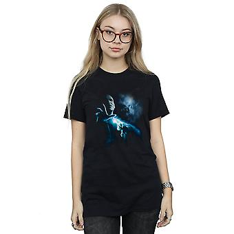 Harry Potter vrouwen Voldemort schaduw Boyfriend Fit T-Shirt