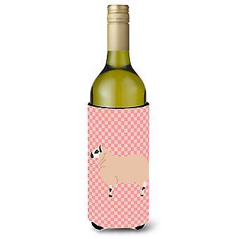 كيري هيل الأغنام الاختيار الوردي زجاجة النبيذ بيفيرجي عازل نعالها