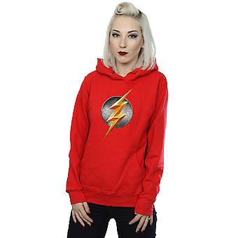 DC Comics Women's Justice League Movie Flash Emblem Hoodie