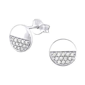 Rotondo - 925 Sterling Silver Cubic Zirconia orecchini - W32068X
