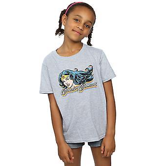 DC Comics Girls Wonder Woman Smile T-Shirt
