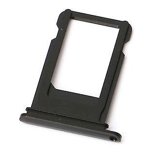 iPhone Sim card SIM Card Holder/vassoio 7/7 Plus-Jet nero