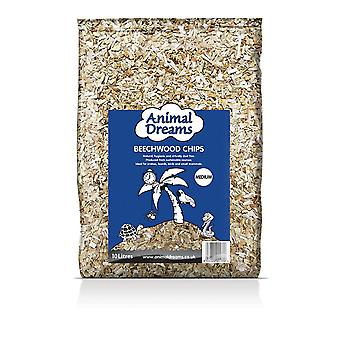 Animal Dreams beukenhout chips-medium