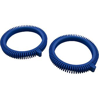 Poolvergnuegen 896584000-075 Fiberglass Front Tire Set of 2 - Blue