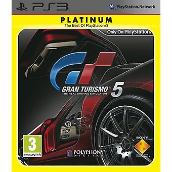 Gran Turismo 5 - Platinum (PS3) - New