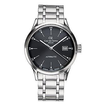 Carl of Zeyten men's watch wristwatch automatic Eschenz CVZ0002BKMB