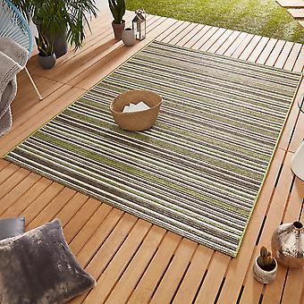 Conception Outdoorteppich Web tapis tissage plat | Bamboo Green Hotel brun
