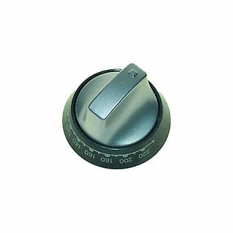 Hotpoint Knob main oven alum & graphitebezel Spares