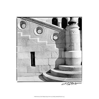 Architecture Detail I Budapest Poster Print by Laura Denardo (13 x 19)