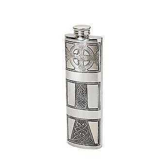 Charles Rennie Mackintosh Purse Pewter Flask - 3oz