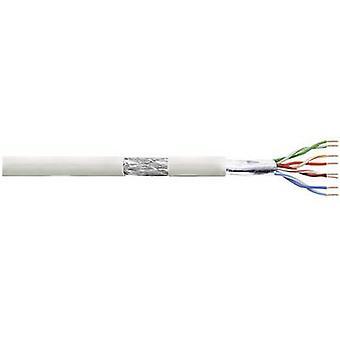 LogiLink CPV0017 netwerkkabel CAT 5e SF/UTP 4 x 2 x 0.13 mm² grijs 100 m