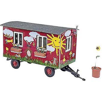 Busch 59933 H0 Trailer garden wagon