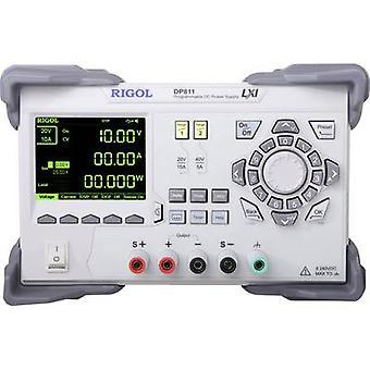Rigol DP811 Bench PSU (adjustable voltage) 0 - 40 V DC 0 - 10 A 200 W No. of outputs 1 x